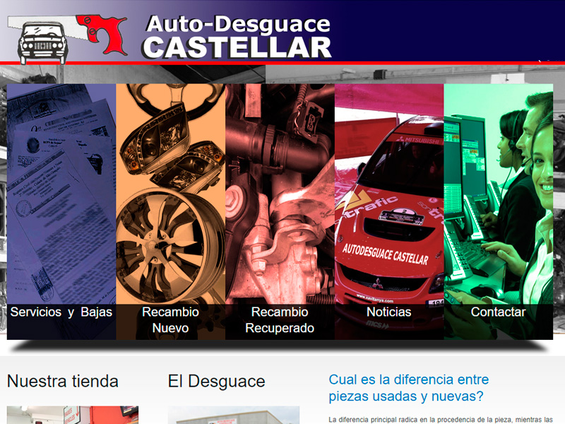 Taller de Marketing - Autodesguace