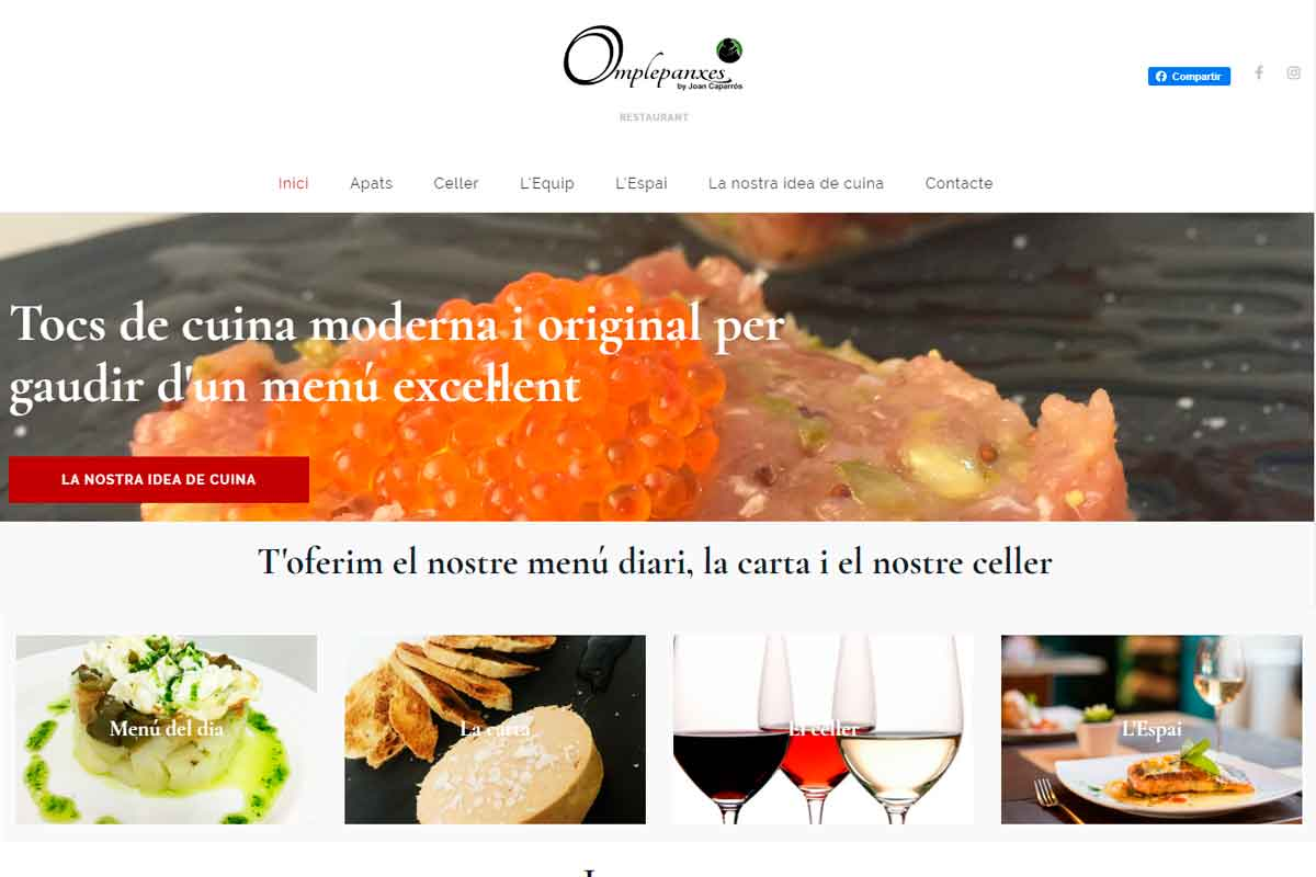 Taller de Marketing - Restaurant Omplepanxes